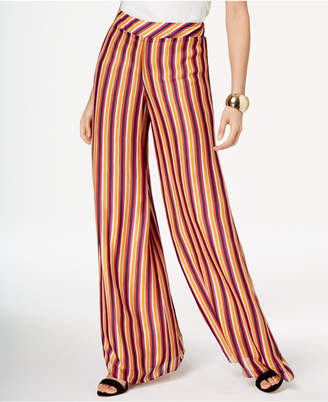 Trina Turk Striped Wide-Leg Pants