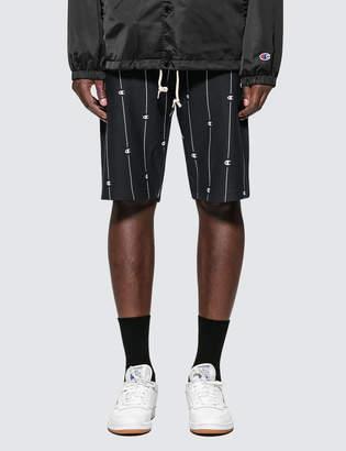 Champion Reverse Weave Allover Logo Shorts