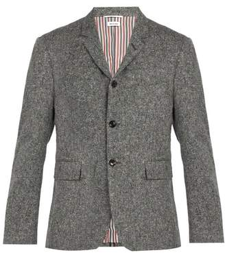Thom Browne Wool Blend Blazer - Mens - Grey