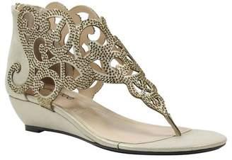 J. Renee Minka Wedge Embellished Sandal - Multiple Widths Available