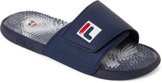 Fila Navy Massaggio Sport Slide Sandals