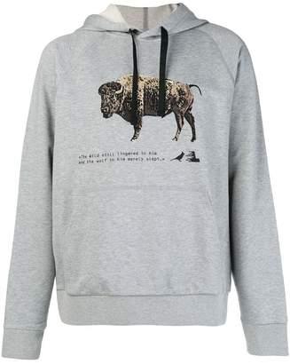 Lanvin Bull print hoody