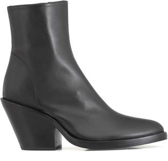 Ann Demeulemeester Leather Ankle Boot