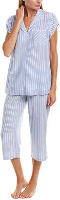 Eileen West 2Pc Pajama Top & Pant Set