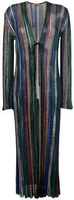 Missoni striped long cardigan