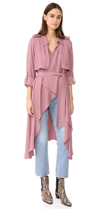Line & Dot Robaina Trench Coat $147 thestylecure.com