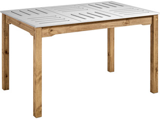 Manhattan Comfort Mid- Century Modern Stillwell Rectangular Table