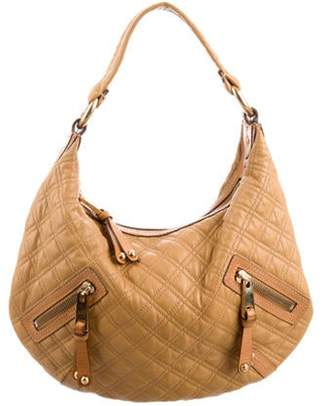Marc Jacobs Quilted Leather Hobo Tan Quilted Leather Hobo