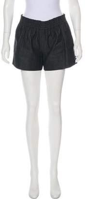 Reed Krakoff Denim Mini Shorts