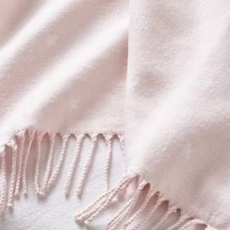 The White Company Mini Star Fringe Blanket
