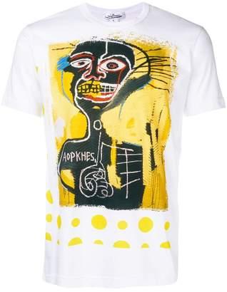 Comme des Garcons Shirt x Jean-Michel Basquiat graphic print T-shirt