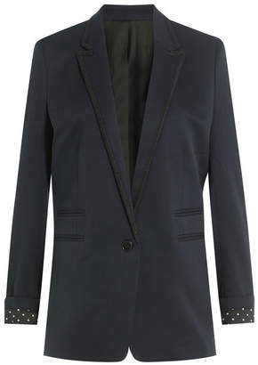 The Kooples Wool Smoking Blazer