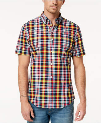 Tommy Hilfiger Men's Kirby Madras Plaid Shirt, Created for Macy's
