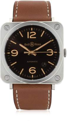 Bell & Ross Brs 92 Steel Golden Heritage Watch