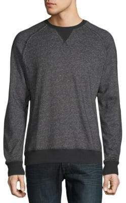 2xist Heathered Raglan-Sleeve Sweatshirt