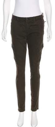 Vince Skinny Mid-Rise Pants