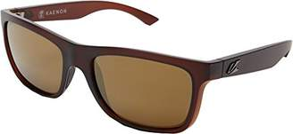 Kaenon Men's Clarke Polarized Rectangular Sunglasses