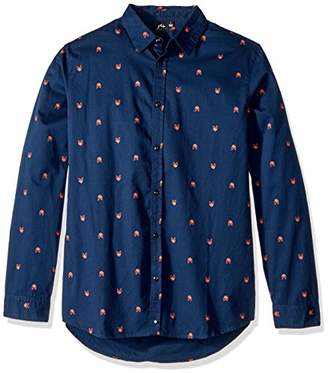 Rusty Men's Drota Long Sleeve Shirt