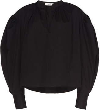 Etoile Isabel Marant Olto Cotton-Poplin Top