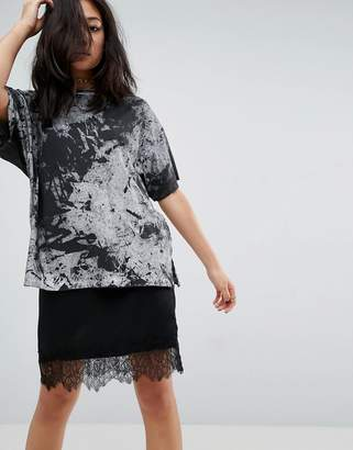 ASOS T-Shirt in Abstract Tie Dye $26 thestylecure.com