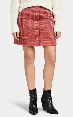 Land of Distraction LAND OF DISTRACTION WOMEN'S COTTON CORDUROY MINISKIRT