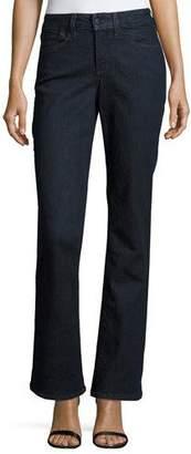 NYDJ Barbara Boot-Cut Denim Jeans, Dark Enzyme