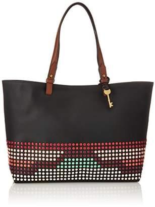 Fossil Damen Tasche Rachel - Shopper, Women's Shoulder Bag, Mehrfarbig (Bright Multi), 11.4x27.9x34.3 cm (B x H T)