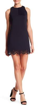 KENDALL + KYLIE Kendall & Kylie Laser Cut Scallop Hem Dress