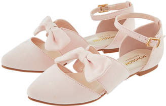 Monsoon Madaline Bow Two Part Pointed Shoes