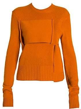 Bottega Veneta Women's Cashmere Blend Interwoven Sweater