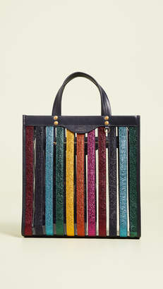 Anya Hindmarch Multi Stripes Small Tote