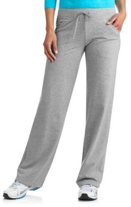 Danskin Women's Plus Size Dri More Core Relaxed Fit Workout Pant