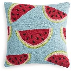 Peking Handicraft Watermelon Decorative Pillow, 16 x 16