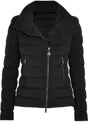 Moncler - Antigone Quilted Shell Down Jacket - Black $1,450 thestylecure.com