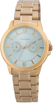 Pilgrim Beautiful gold plated watch