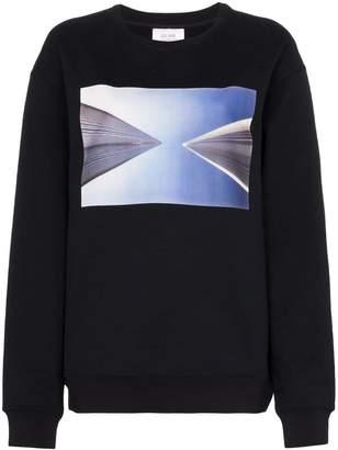 Calvin Klein Jeans Est. 1978 Graphic print cotton blend jumper