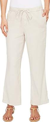 NYDJ Women's Jamie Relaxed Ankle Pants in Stretch Linen