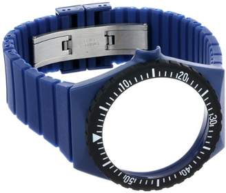 Fortis Colors C 05 24 -mm Navy Silicone Watch Strap