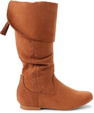 Nina Kids Girls) Tan Gem Knee-High Boots