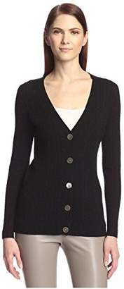 Society New York Women's Boyfriend Cardigan
