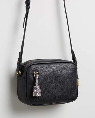 J.Crew Signet Leather Cross-Body Bag