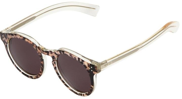 Illesteva 'Leonard' safari print sunglasses