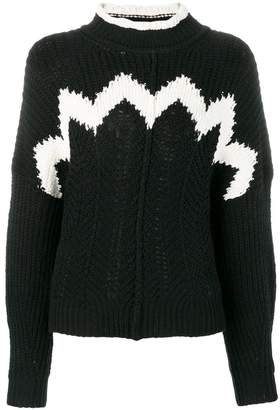 Isabel Marant detailed knit jumper