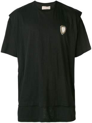Ih Nom Uh Nit logo patch T-shirt