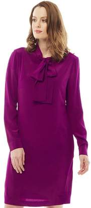 Ted Baker Womens Yanka Bow Tunic Dress Dark Purple