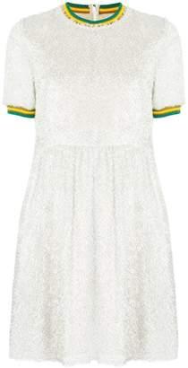 Missoni Mare stripe detail T-shirt dress
