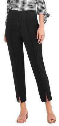 Lifestyle Attitudes Women's Pull On Bond 18 Pant with Split Ankle Detail