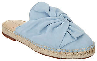 Sole Society Bow Espadrille Slip-Ons- Sammie