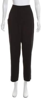 Vince High-Rise Straight-Leg Knit Pants