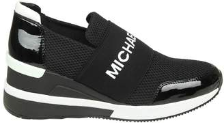 Michael Kors felix Trainer Slip-on In Fabric Color Black